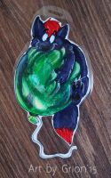 Bronko balloon badge by Grion