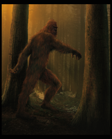 Bigfoot by wallace