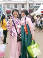 Graduation Hakama and Hanbok by seawaterwitch