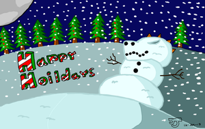 Christmas Banner by DinomanInc