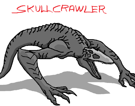 THE SKULL CRAWLER by cocoy1232