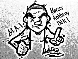 Me as a CARTOON by MarcusHECANDRAWBoggs