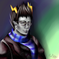 Homestuck: Eridian Ampora by liferaven