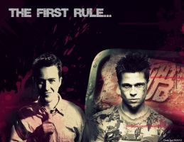 Fight Club by geekyglassesartist