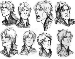 Jareth's emotions by monokene