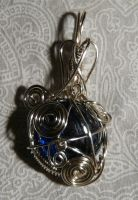 Wire pendant 229 by Kimantha333