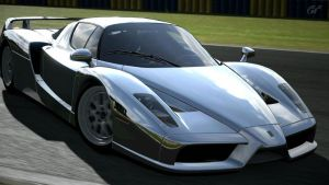 drifting enzo. GT5 by daz1200