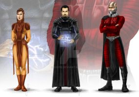 Star Wars Characters by esyre