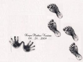 Baby prints by TheMusicJunkie