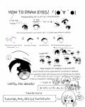 How to draw MOE ANIME EYES! by arekuun