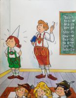 Little Rudolf Gets His lesson by munchengirl