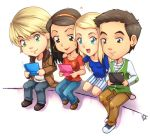 Glee group by LazyTurtle