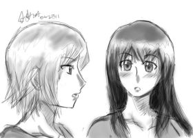 Faberry sketch by asasin8444