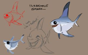 Porbeagle Shark by ShaneCorn