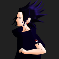 Yuri Uchiha re-colored v1 by xlJonnyQthanlx