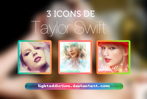 Pack de Icons - Taylor Swift by LightAddiction