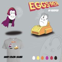The Eggs-Men by roofoo