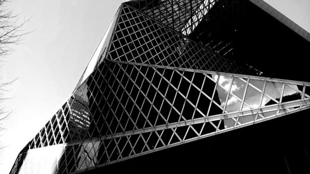 Seattle Public Library by HuanBao