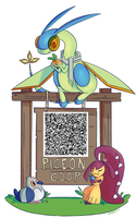 OR/AS QR Secret Base! by ecokitty