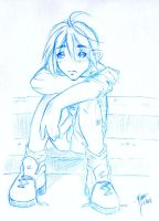 23 mins blue sketch boy by korone