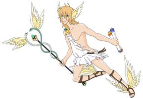 Hermes by Cerulebell