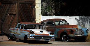 Vintage Dodge and Chevy Cars? by houstonryan