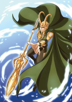 God of Mischief by StudioKawaii