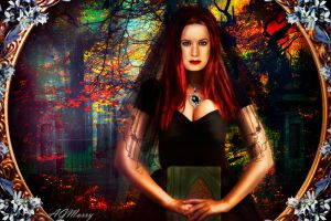 Dark (Charmed.Holly Marie Combs ) by AGMarry
