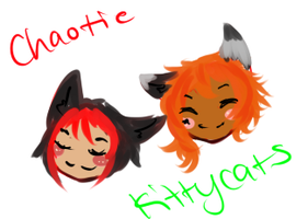 Chaotic Kitty Cats by Blackrain100