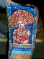 Queen in space by TodoArtist