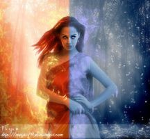 Fire and Ice by Marjie79
