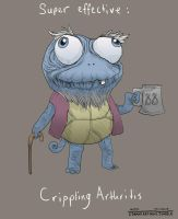 Grandpa Squirtle by AsherBuckley