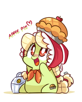 young granny smith by ILifeloser