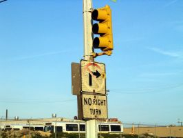 No Right Turn by Cruzweb