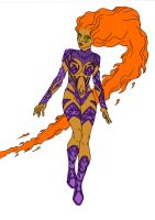 Starfire Redesign! by Comicbookguy54321