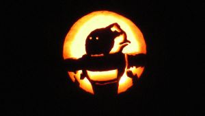 emo pumpkin design finished by zxephin
