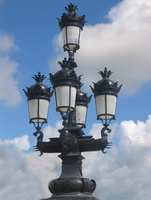 Street lamps 1 by Azenor-stock