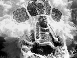 mardi gras indian by maltedhens