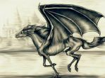 Wow, Another Thestral by Whyamithewerewolf