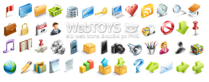 WebToys 50 web icons by FreeIconsFinder