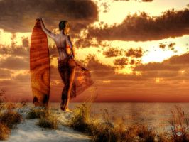 Surfer Girl by deskridge