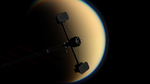 Orbiting Titan by SMPritchard