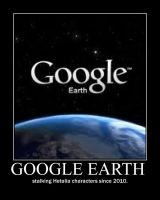 Google Earth and Hetalia by MapleLuver1