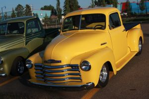 Classy Yellow Chevy by KyleAndTheClassics