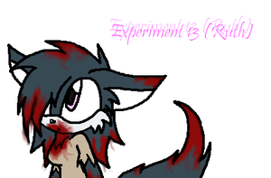 Experiment 13 ~Ruth~ by ChibiChibiWoofWoof