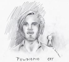 Pewdiepie and Cry by ShiranuiOkami