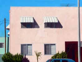 Pink Apartments by MichaelWard