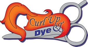 Curl up and Dye Logo by Saruteku