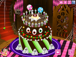 Monster High Special Cake - Cooking Games by willbeyou