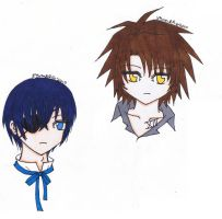 Chibi Collection-Train, Ciel by AkabaraYashiki